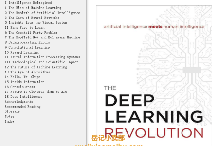 【配音频】The Deep Learning Revolution by Terrence J. Sejnowski(mobi,epub,pdf)