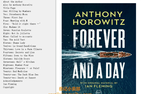 Forever and a Day (James Bond - Extended Series #48) by Anthony Horowitz
