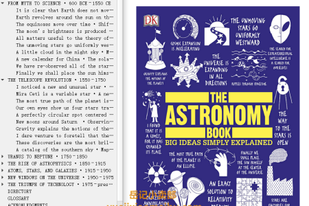 The Astronomy Book: Big Ideas Simply Explained (Big Ideas Simply Explained) by Dk Publishing