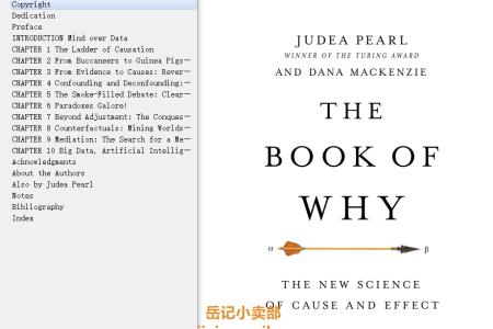 The Book of Why: The New Science of Cause and Effect by Judea Pearl,  Dana Mackenzie