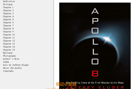Apollo 8: The Thrilling Story of the First Mission to the Moon by Jeffrey Kluger