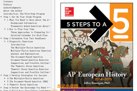 5 Steps to a 5 AP European History, 2014-2015 Edition by Jeffrey Brautigam