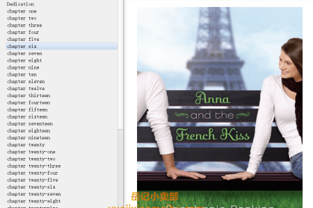 Anna and the French Kiss (Anna and the French Kiss #1) by Stephanie Perkins