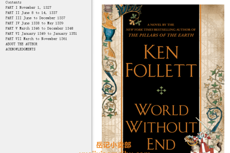 World Without End (Kingsbridge #2) by Ken Follett