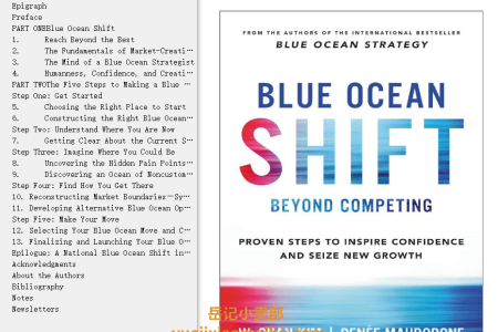 Blue Ocean Shift: Beyond Competing - Proven Steps to Inspire Confidence and Seize New Growth by W. Chan Kim,  Renée Mauborgne