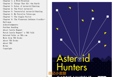 Asteroid Hunters (TED Books #14) by Carrie Nugent