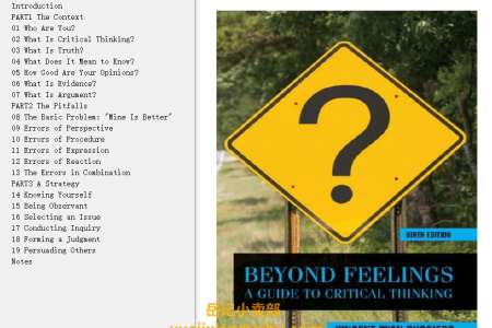 Beyond Feelings 9th Edition: A Guide to Critical Thinking by Vincent Ruggiero