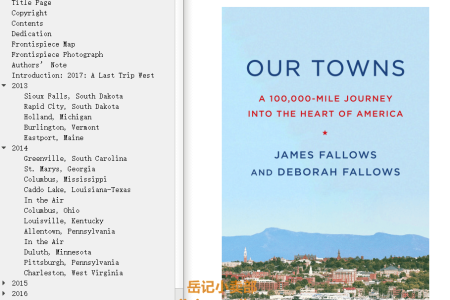 Our Towns: A 100,000-Mile Journey Into the Heart of America by James M. Fallows,  Deborah Fallows