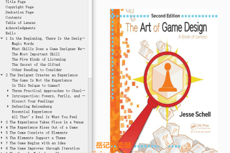 The Art of Game Design: A Book of Lense 2nd Edition by Jesse Schell