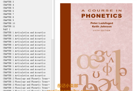A Course in Phonetics 6th Edition by Peter Ladefoged
