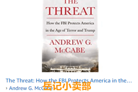 The Threat by Andrew G. McCabe 免费下载(mobi、epub、pdf)