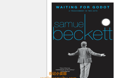 【配音频】Waiting for Godot by Samuel Beckett(mobi,epub,pdf)