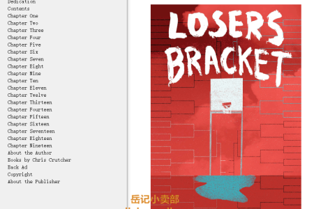 【配音频】Loser's Bracket by Chris Crutcher(mobi,epub,pdf)