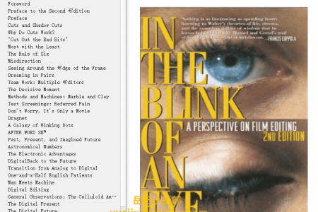 【电子书】In the Blink of an Eye 2nd Edition by Walter Murch(mobi,epub,pdf)