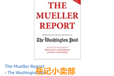 The Mueller Report by The Washington Post 免费下载(mobi、epub、pdf)