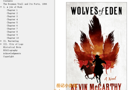 【配音频】Wolves of Eden by Kevin McCarthy(mobi,epub,pdf)