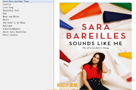 【配音频】Sounds Like Me: My Life (So Far) in Song by Sara Bareilles(mobi,epub,pdf)