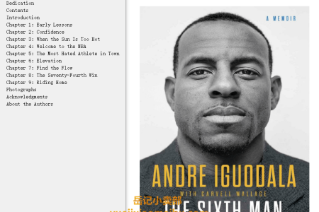 【配音频】The Sixth Man by Andre Iguodala,  Carvell Wallace(mobi,epub,pdf)
