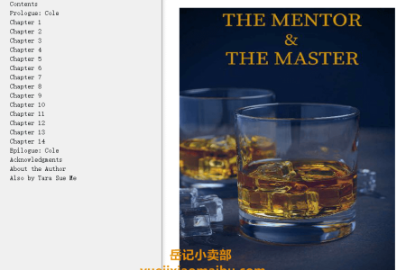 【配音频】The Mentor and the Master: A Submissive Series Novella (Submissive #12) by Tara Sue Me(mobi,epub,pdf)