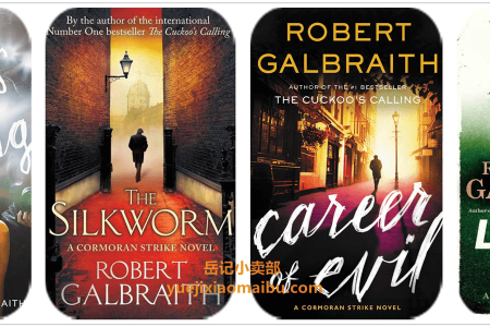 【配音频】Cormoran Strike 4 book series by Robert Galbraith(mobi,epub,pdf)