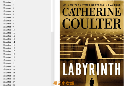 【配音频】Labyrinth (FBI Thriller #23) by Catherine Coulter(mobi,epub,pdf)