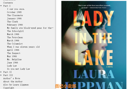 【配音频】Lady in the Lake by Laura Lippman(mobi,epub,pdf)