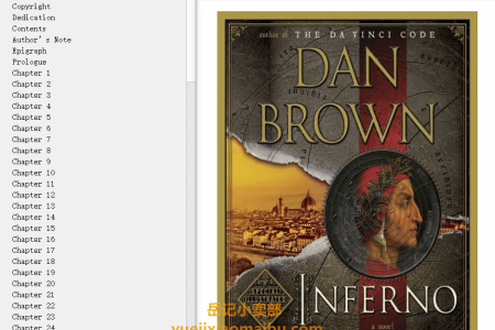 【配音频】Inferno (Robert Langdon #4) by Dan Brown(mobi,epub,pdf)