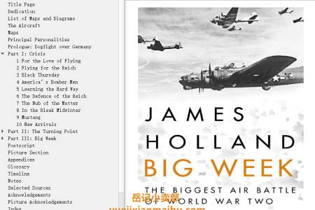 【配音频】Big Week: The Biggest Air Battle of World War Two by James Holland(mobi,epub,pdf)
