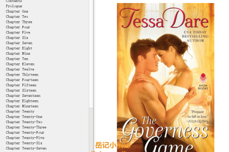 【配音频】The Governess Game (Girl Meets Duke #2) by Tessa Dare(mobi,epub,pdf)