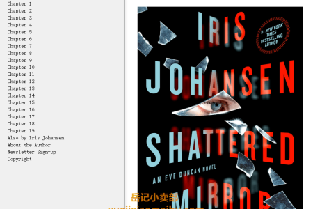 【配音频】Shattered Mirror (Eve Duncan #23) by Iris Johansen(mobi,epub,pdf)