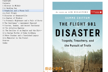 【配音频】The Flight 981 Disaster: Tragedy, Treachery, and the Pursuit of Truth (Air Disasters) by Samme Chittum(mobi,epub,pdf)