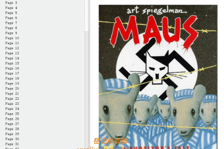 【电子书】Maus II: A Survivor's Tale: And Here My Troubles Began (Maus #2) by Art Spiegelman(mobi,epub,pdf)