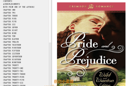 【配音频】Pride and Prejudice by Jane Austen(mobi,epub,pdf)