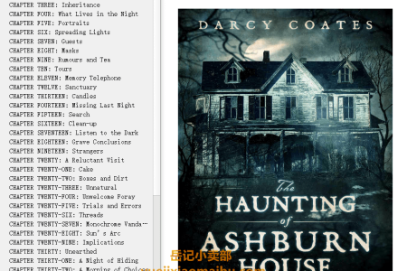 【配音频】The Haunting of Ashburn House by Darcy Coates(mobi,epub,pdf)