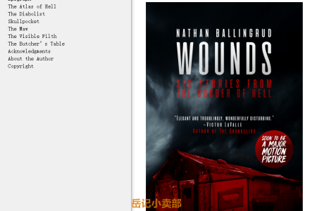 【配音频】Wounds: Six Stories from the Border of Hell by Nathan Ballingrud(mobi,epub,pdf)