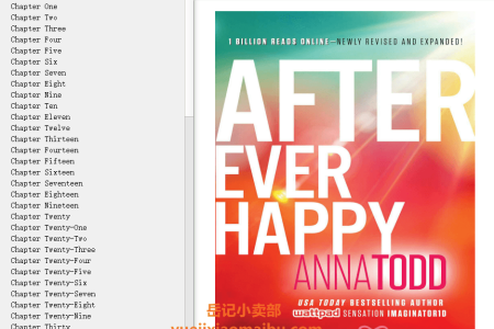 【配音频】After Ever Happy (After #4) by Anna Todd(mobi,epub,pdf)