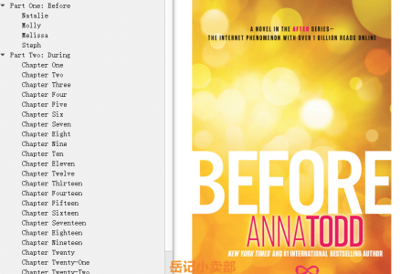 【配音频】Before (After #5) by Anna Todd(mobi,epub,pdf)