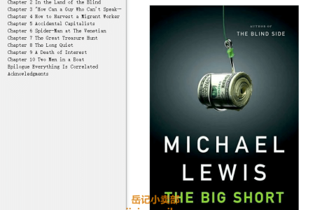 【配音频】The Big Short: Inside the Doomsday Machine (Liar's Poker #2) by Michael Lewis(mobi,epub,pdf)