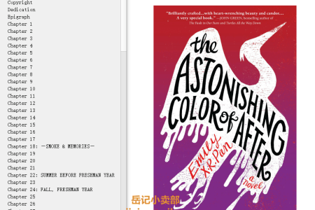 【配音频】The Astonishing Color of After by Emily X.R. Pan(mobi,epub,pdf)