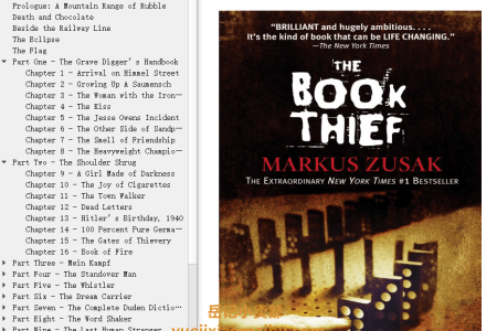 【配音频】The Book Thief by Markus Zusak(mobi,epub,pdf)