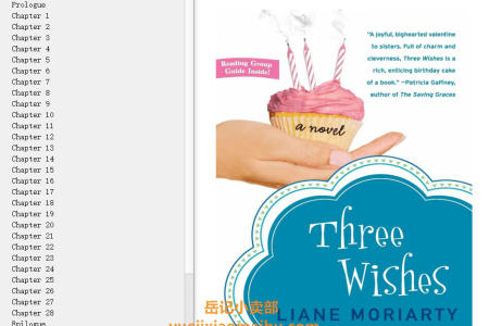 【配音频】Three Wishes by Liane Moriarty(mobi,epub,pdf)