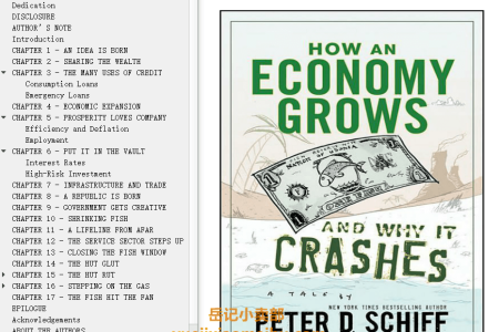 【配音频】How an Economy Grows and Why It Crashes by Peter D. Schiff,  Andrew J. Schiff(mobi,epub,pdf)