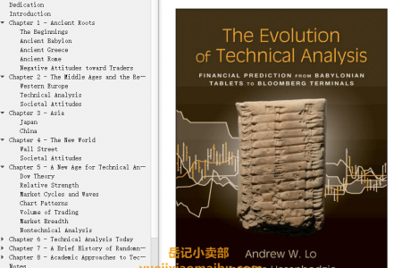 【配音频】The Evolution of Technical Analysis: Financial Prediction from Babylonian Tablets to Bloomberg Terminals by Andrew W. Lo,  Jasmina Hasanhodzic(mobi,epub,pdf)