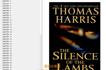 【配音频】The Silence of the Lambs (Hannibal Lecter #2) by Thomas Harris(mobi,epub,pdf)