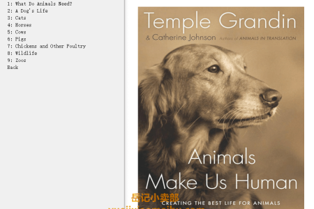 【配音频】Animals Make Us Human: Creating the Best Life for Animals by Temple Grandin,  Catherine Johnson(mobi,epub,pdf)