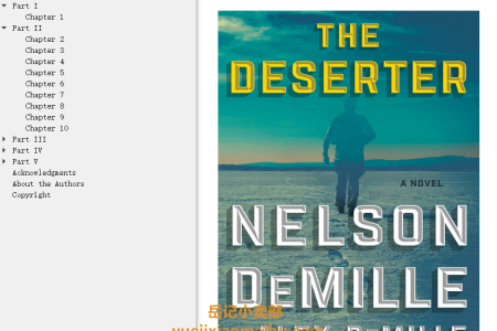 【配音频】The Deserter by Nelson DeMille ,  Alex DeMille(mobi,epub,pdf)