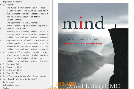 【配音频】Mind: A Journey to the Heart of Being Human by Daniel J. Siegel(mobi,epub,pdf)