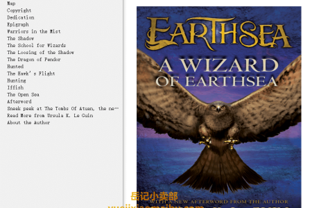 【配音频】A Wizard of Earthsea (Earthsea Cycle #1) by Ursula K. Le Guin(mobi,epub,pdf)
