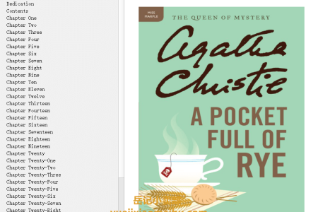【配音频】A Pocket Full of Rye (Miss Marple #7) by Agatha Christie(mobi,epub,pdf)
