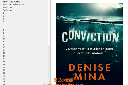 【配音频】Conviction by Denise Mina(mobi,epub,pdf)